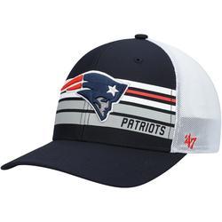 """Men's '47 Navy New England Patriots Altitude MVP Snapback Adjustable Hat"""
