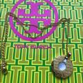 Tory Burch Jewelry   % Authentic Tory Burch Gold Plated Necklace   Color: Gold   Size: Listed