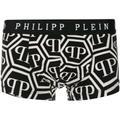 Philipp Plein Boxer à motif monogrammé