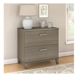 Bush Somerset Collection Lateral File Cabinet Ash Gray - WC81680
