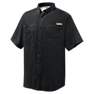 Columbia Tamiami II Short Sleeve Shirt for Men - Black - S