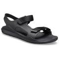 Crocs Black / Black Men's Swiftwater™ Expedition Sandal Shoes