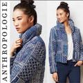 Anthropologie Jackets & Coats | Anthropologie Pilcro And Letterpress Puff Jacket | Color: Blue | Size: Xs