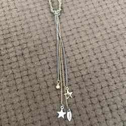 American Eagle Outfitters Jewelry   Aeo Layered Necklace Gold N Silver Twist   Color: Gold/Silver   Size: Os