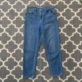American Eagle Outfitters Jeans | American Eagle Aeo Mom Jeans Size 10 Reg | Color: Blue | Size: 10