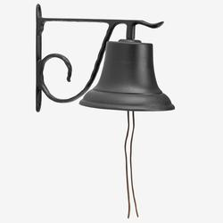 Large Country Bell by Whitehall Products in Black