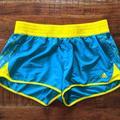 Adidas Shorts | Adidas Blue And Yellow Shorts Medium | Color: Blue/Yellow | Size: M