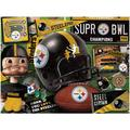 Pittsburgh Steelers Wooden Retro Series Puzzle