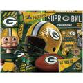 Green Bay Packers Wooden Retro Series Puzzle
