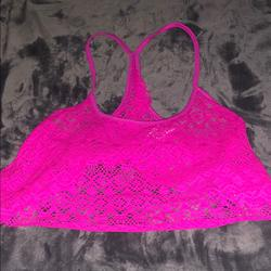 Pink Victoria's Secret Swim   Bathing Suit Cover Up Top   Color: Pink   Size: Xs