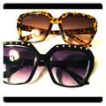 Free People Other | 2 Pair New Free People Sunglasses | Color: Black/Brown | Size: Os