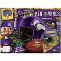 Minnesota Vikings Wooden Retro Series Puzzle