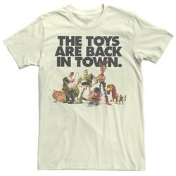 Men's Disney / Pixar Toy Story Toys Are Back In Town Tee, Size: Large, White