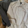J. Crew Shirts | 2 Two Mens J Crew Cotton Flex Ls Sz Med Shirts | Color: Blue | Size: M