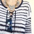 Free People Sweaters | 3$30! Free People Sweater | Color: Blue/White | Size: S