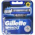 Gillette Mach 3 Turbo Lames de rechange – 5 unités