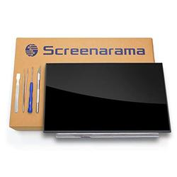SCREENARAMA New Screen Replacement for HP 14-DF0018WM 7MP91UA, HD 1366x768, Glossy, LCD LED Display with Tools