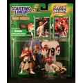Starting Lineup Steve Young / SAN Francisco 49ERS & Jerry Rice / SAN Francisco 49ERS 1998 NFL Classic Doubles Winning Pairs Action Figures & Exclusive Collector Trading Cards