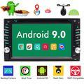 EINCAR Double Din Android 9.0 Car Stereo 6,2 Pouces de Navigation GPS Lecteur DVD de Voiture en Voiture Dash Radio vidéo système Audio avec Connexion Wi-FI Bluetooth 1080P MirrorLink écran tacti