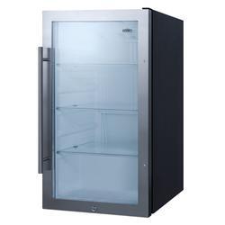 "Summit SPR489OS 19"" Undercounter Outdoor Refrigerator w/ (1) Section & (1) Door, 115v"