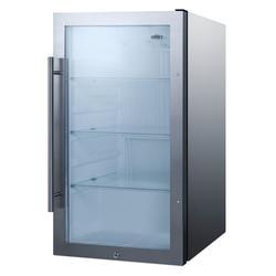 "Summit SPR489OSCSS 19"" Undercounter Outdoor Refrigerator w/ (1) Section & (1) Door, 115v"