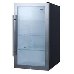 """Summit SPR489OSADA 19"""" Undercounter Outdoor Refrigerator w/ (1) Section & (1) Door, 115v"""