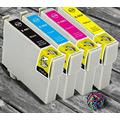 InkjetsClub Remanufactured Ink Cartridge Replacement for 4 Pack - Epson 68 High Yield Printer Ink Value Pack. Includes 1 Black, 1 Cyan, 1 Magenta and 1 Yellow Printer Inks