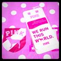 Pink Victoria's Secret Accessories   We Run This World Phone Wallet   Color: Pink/White   Size: Os