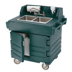 "Cambro 32.5"" L x 40.57"" W Handwash Station w/ FaucetPlastic in Gray, Size 45.5 H x 32.5 W x 40.57 D in   Wayfair KSC402191"