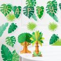 Creative Converting 17 Piece Party Decorating KitHeavy Duty Paper in Brown/Green   Wayfair DTC5670E1A