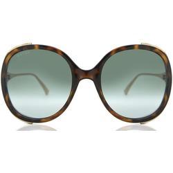 GG0226S 003 Women's Sunglasses - Green - Gucci Sunglasses