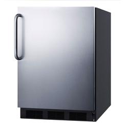 "Summit FF7BKSSTBADA 24"" W Undercounter Refrigerator w/ (1) Section & (1) Door, 115v"