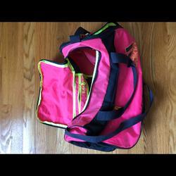 Adidas Bags | Adidas Sport Duffel Bag | Color: Pink/Yellow | Size: Os