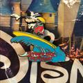 Disney Accessories | 5$30 Le Disney Goofy Surfing Pin | Color: Blue/Red | Size: Os