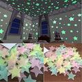 BOAJA Un Paquet d'environ cent3 cm3d étoiles Brillent dans l'obscurité Stickers muraux Enfants Brillent Stickers muraux Chambre de bébé Chambre Plafond décoration de la Maison