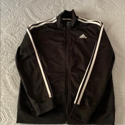 Adidas Shirts & Tops   Adidas Youth Sweaters   Color: Black/White   Size: 1416 Youth