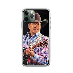 Phone Case On Vegas George Strait Tour 2019 Gelas Compatible with iPhone 6 6s 7 8 X XS XR 11 Pro Max SE 2020 Samsung Galaxy Drop Absorption Shock