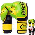 Farabi Sports Boxing Gloves Training Punching Bag Kick Boxing Muay Thai Bag Gloves (Gel Green, 12-oz)