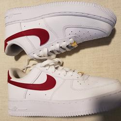 Nike Shoes   1 Lv8 Utility Casual Shoes   Color: Red/White   Size: 7.5