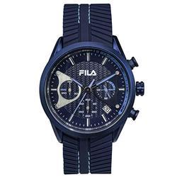 FILA Mens Watches - Men Watches - Chronograph Watches for Men - Mechanical Watch - Sports Watch Men - Sport Watch - Running Watch - Swimming Watch - Waterproof Watches for Men - Blue Fila Watch