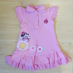 Disney Dresses | 12-18m Cute Disney Baby Pink Minnie Mouse Dress | Color: Pink | Size: 12-18mb