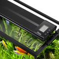 Hygger Auto On Off LED Aquarium Light Extendable 48-55 Inches Dimmable 7 Colors Full Spectrum Light Fixture for Freshwater Planted Tank Build in Timer Sunrise Sunset