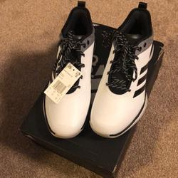 Adidas Shoes   Adidas Baseball Sport   Color: Black/White   Size: 9