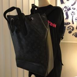 Louis Vuitton Bags | Lv Eclipse Explorer Backpack | Color: Black/Gray | Size: 11.8l X 17.3h X 6.3w
