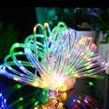 Aluvee Solar Rope String Light,Garden Decoration Outdoor Waterproof Rope String Christmas Lamp Wedding Party Tree Xmas Decoration Tree Xmas (33ft/100LED,Multicolor + PVC Tube)