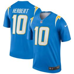 """Men's Nike Justin Herbert Powder Blue Los Angeles Chargers Legend Jersey"""