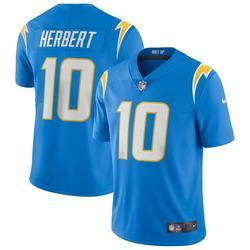 """Men's Nike Justin Herbert Powder Blue Los Angeles Chargers Vapor Limited Jersey"""