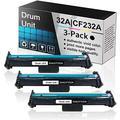 (3 Pack Black Drum Unit 32A | CF232A) Compatible Drum Unit Replacement for HP Laserjet Pro M118dw,M148dw,M148fdw,M148-M149 Series,M118-M119 Series Printers.