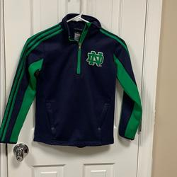 Adidas Shirts & Tops | Adidas Youth Nd Quarter Zip Size Youth Small (8) | Color: Blue/Green | Size: Sb
