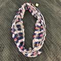 American Eagle Outfitters Accessories | American Eagle Multi-Color Infinity Scarf | Color: Blue/White | Size: Os